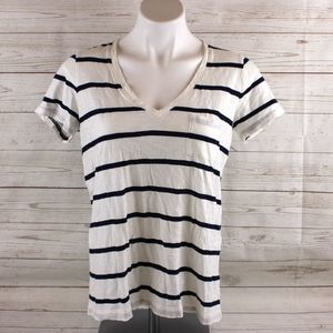 Madewell S Small Stripe Shirt Top Cotton